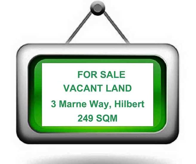 Vacant Land sign for websites